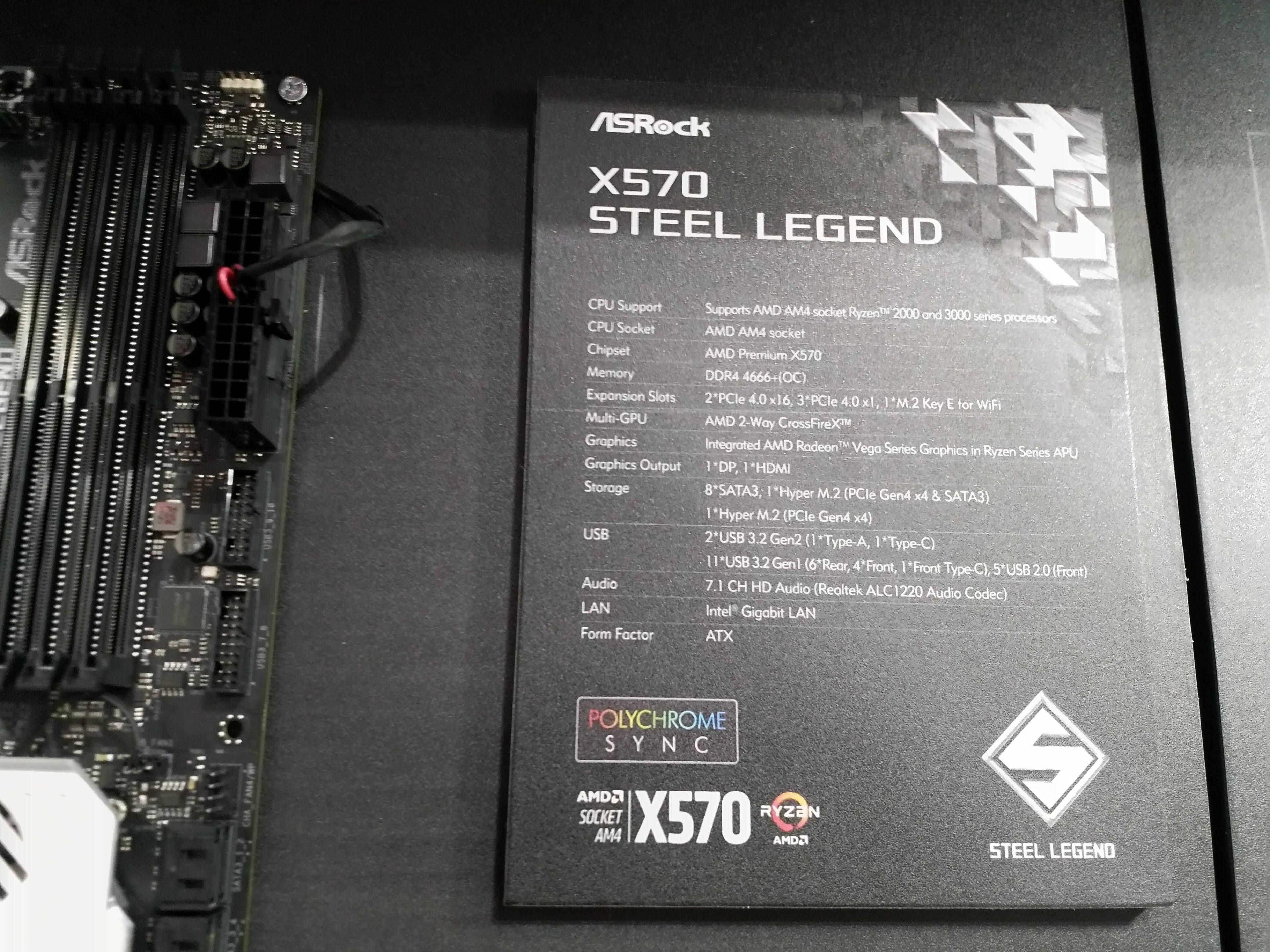 ASrock X570 Computex 2019 AdoredTV