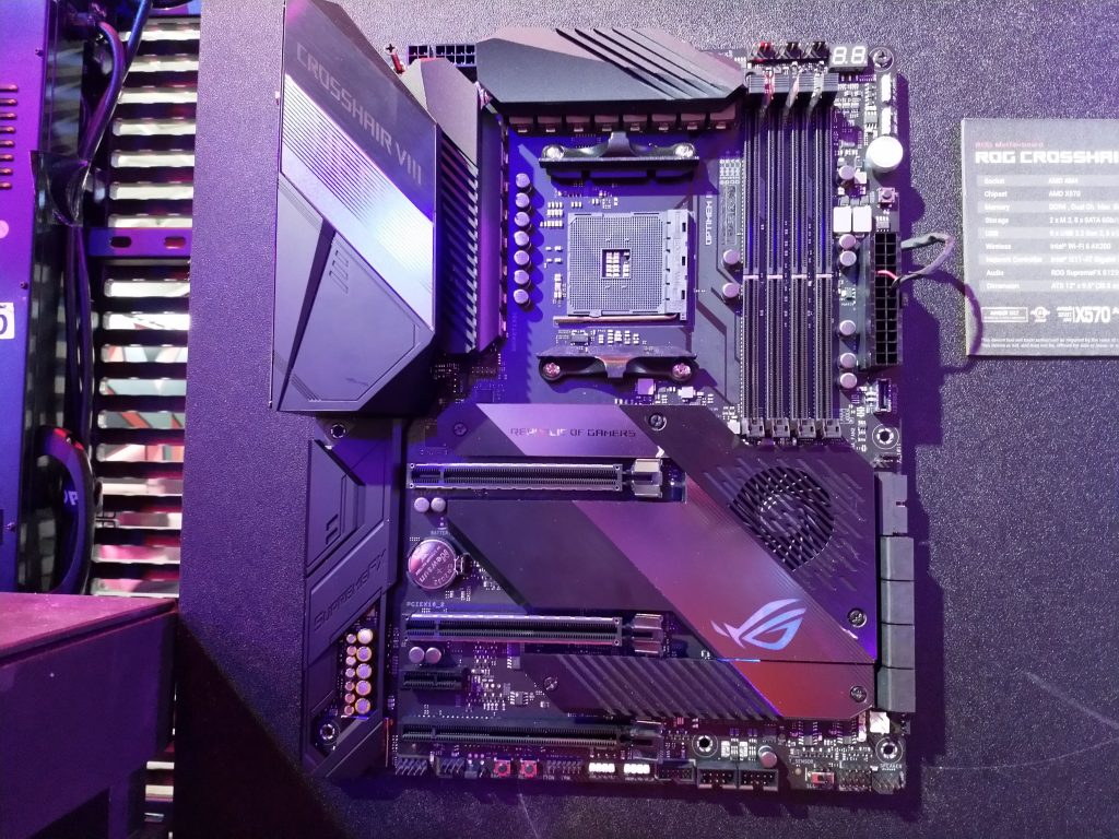 ASUS Shows Off New X570 Motherboards at Computex 2019 – AdoredTV