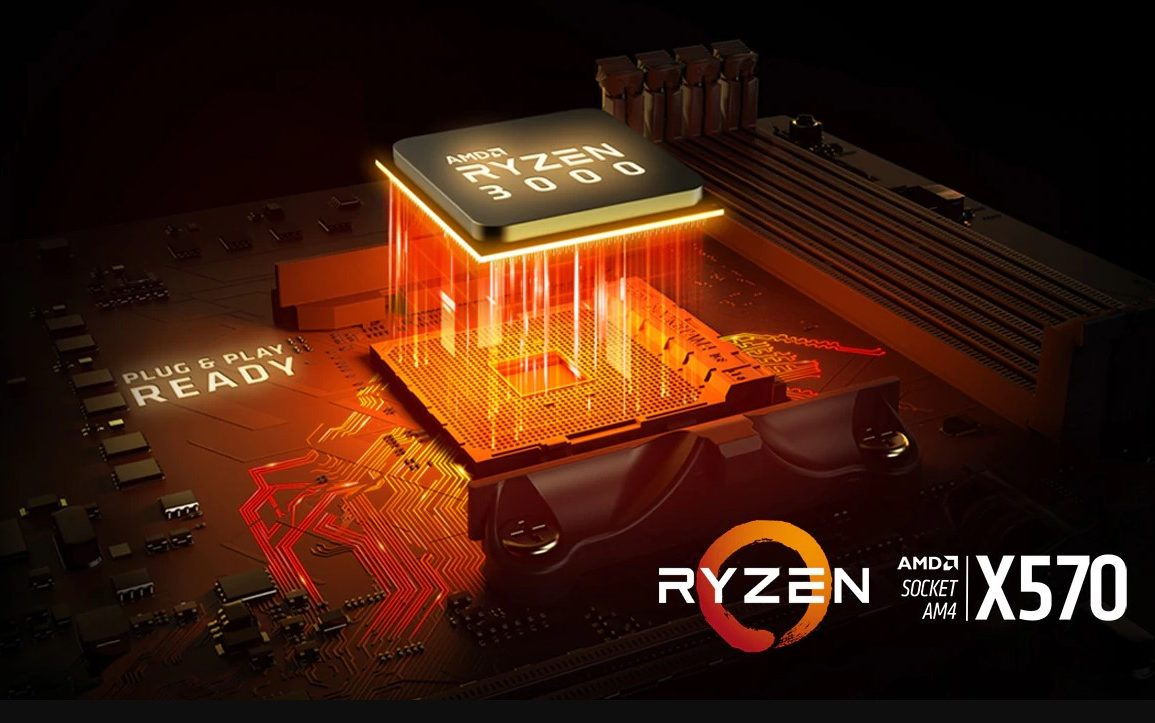 Possible AMD X590 Chipset Spotted – B550 and A520 Chipsets
