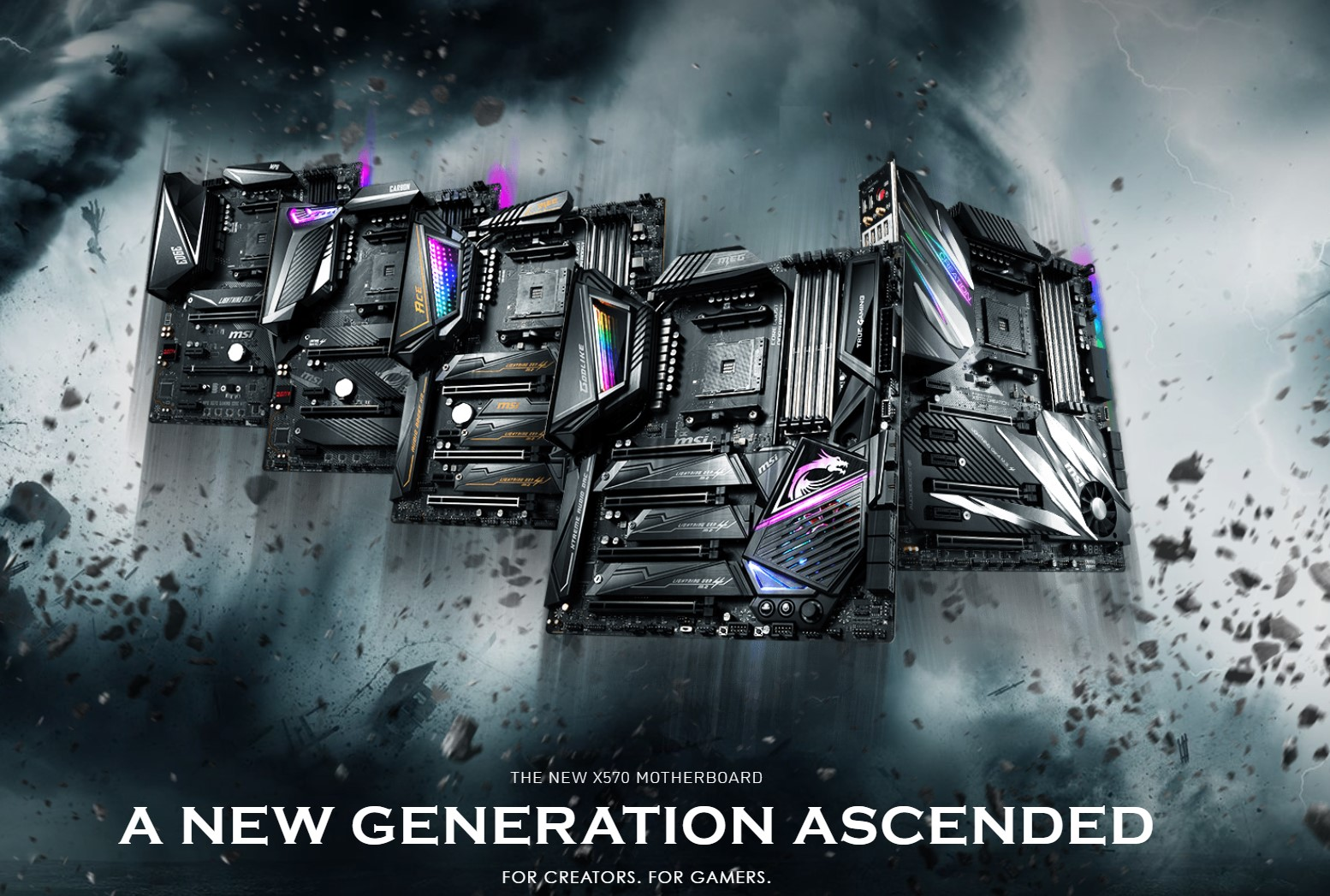MSI X570 Motherboard Lineup Overview – AdoredTV