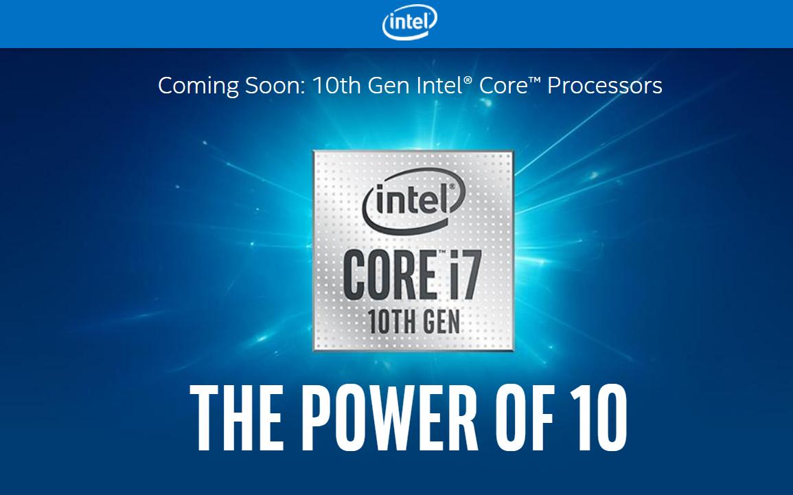 "Fake Intel 10th Gen ""Comet Lake"" Slide Circulates – AdoredTV"