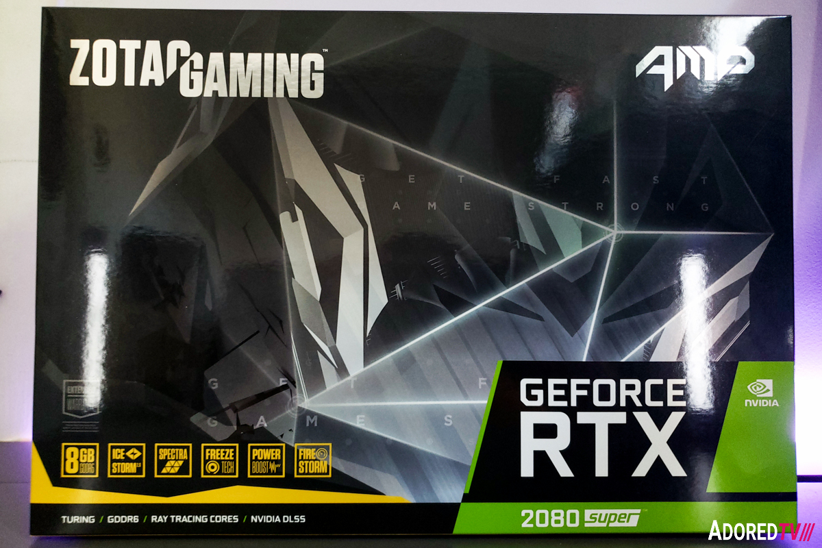 ZOTAC GeForce RTX 2080 SUPER AMP Graphics Card Review – AdoredTV
