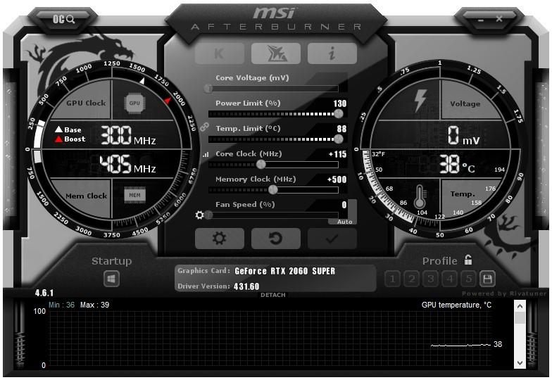 GIGABYTE GeForce RTX 2060 SUPER GAMING OC Graphics Card