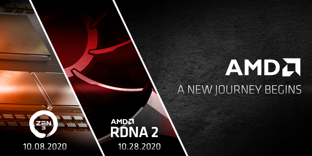 AMD Zen 3 and RDNA2 Teaser