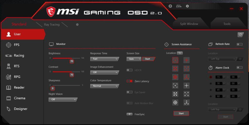 MSI Gaming OSD 2.0